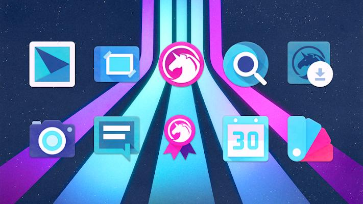 Unicorn Icon Pack Screenshot Image