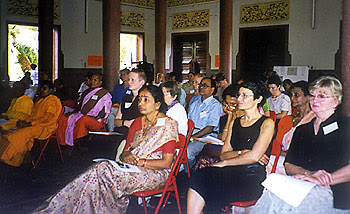 Photo: 125 participants from 24 countries attend the Fifth International Conference on Buddhist Women held from December 29, 1997 to January 4, 1998.