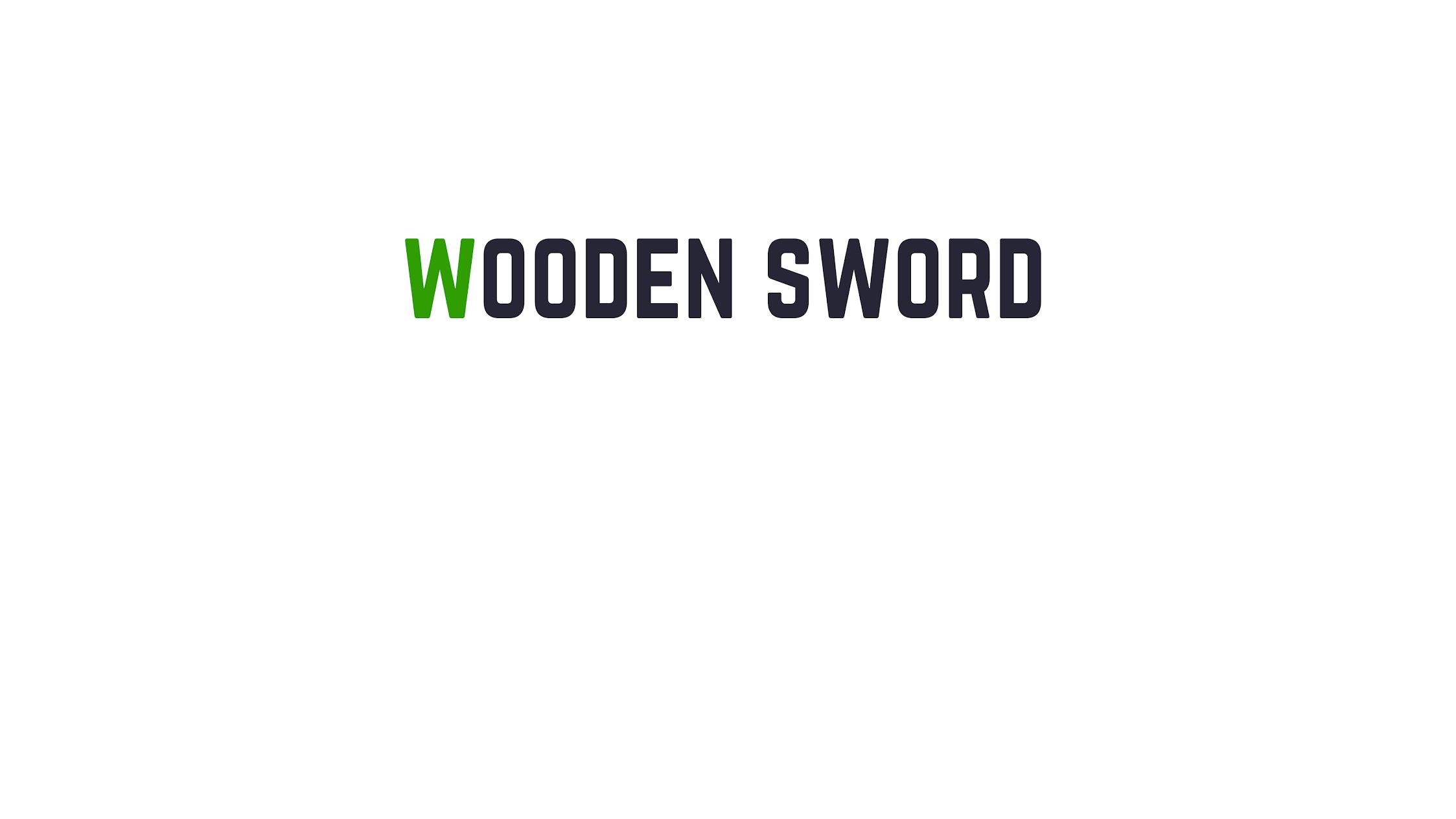 Wooden Sword Games