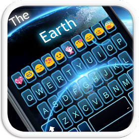 The Earth Emoji Keyboard Theme