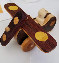 Photo: Handmade Wooden Plane by Jakes Toys