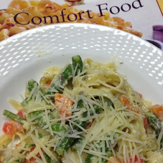 Creamy Fettuccine With Vegetables