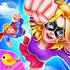 Superhero Girl Prom Clash icon