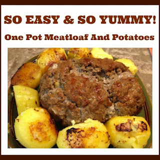 One Pot Meatloaf And Potatoes.