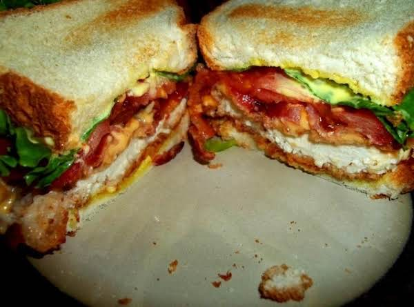 Honey Mustard Chicken Club /  Cassies Way Recipe