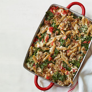 Baked Pasta with Kale