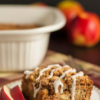 Gluten-free Apple Cinnamon Coffee Cake