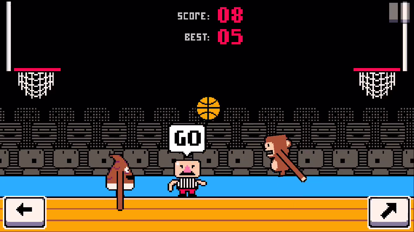 Dunkers - Basketball Madness- screenshot