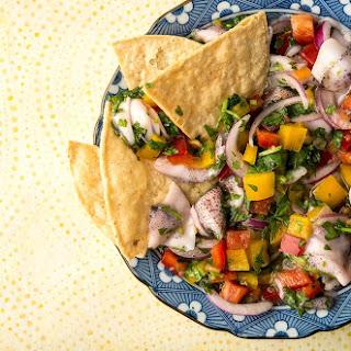 Squid Ceviche Recipe