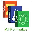 All Formulas - Math, Physics & Chemistry icon