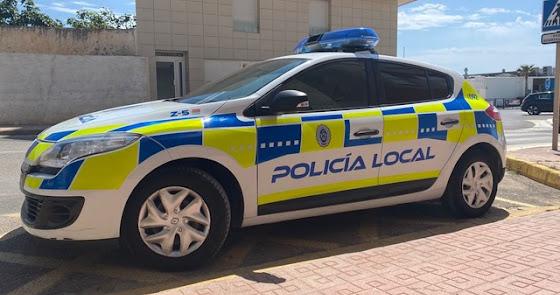 La Policía Local rescata a un ciclista que sufrió un accidente en Sierra Cabrera