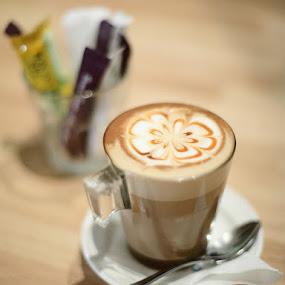 Caramel Latte by Wei Fuk Lie - Food & Drink Alcohol & Drinks