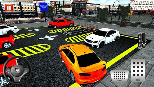Modern Car parking simulator –Crazy car stunt 2019 screenshot 4
