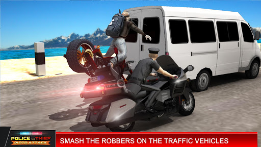 Police vs Thief MotoAttack 1.0 screenshots 9