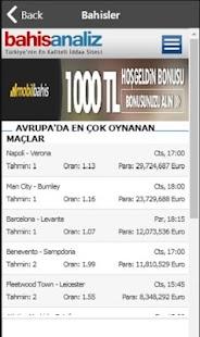 My Bet Bahis Analiz - Günlük Kupon ve Analizler - náhled