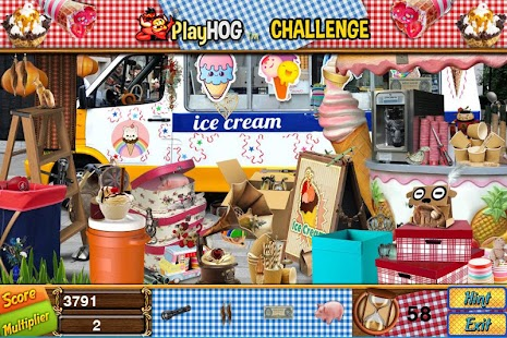 Challenge #227 Scoops New Free Hidden Object Games - náhled