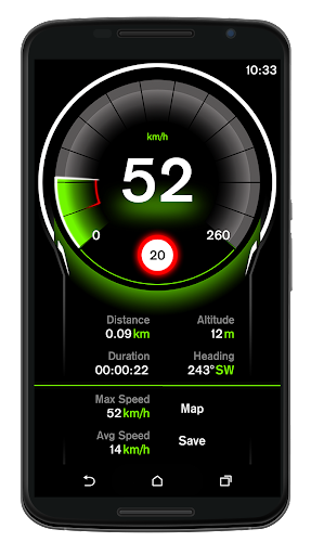 Speed View GPS Pro v1.3.92 [Patched]