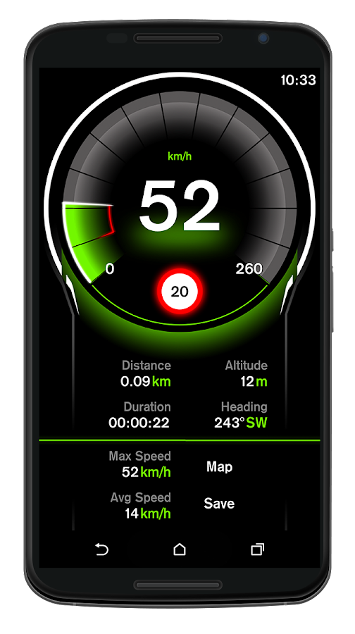 Speed View GPS Pro- screenshot