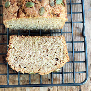 Zucchini Bread with Pumpkin Seeds