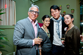 Photo: Geoffrey Zakarian, Iron Chef with Eric Haugen of The Lambs Club