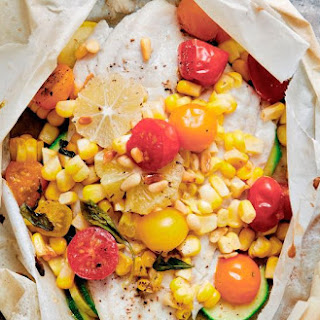 Sole With Vegetables En Papillote