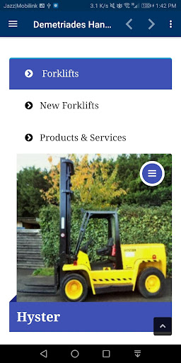 Used Forklifts Demetriades Handling UK screenshot 4