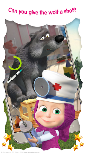 Masha and the Bear: Vet Clinic 3.21 screenshots 3