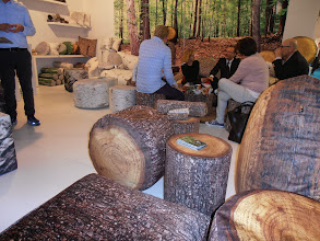 Photo: Photorealistic print forest collection, Mero Wings, Stuttgart, Germany, www.merowings.com  #ambiente14