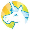 Rainbow Unicorn Pop Style HD New Tabs Theme