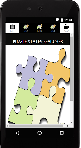 Puzzle State Search