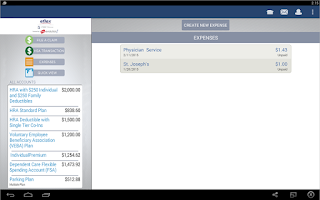 Screenshot of Benefits by eflex