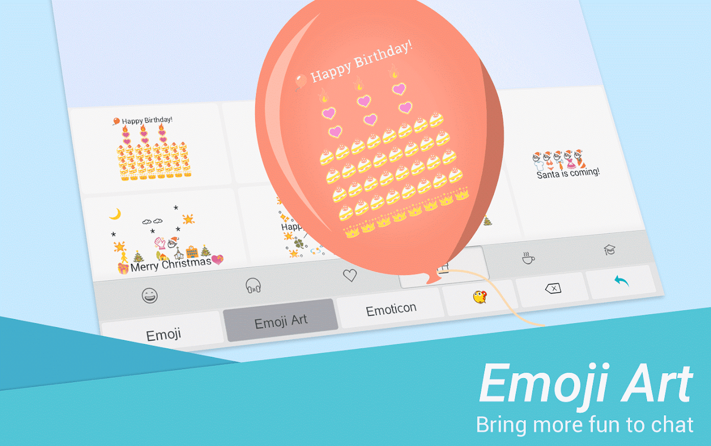 TouchPal Emoji Keyboard - Emoji,theme, sticker,gif- screenshot