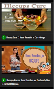 Hiccups Home Remedies - náhled