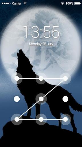 免費下載程式庫與試用程式APP|Applock Theme Ice Wolf app開箱文|APP開箱王