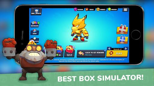 Lemon Box Simulator for Brawl stars screenshot 2
