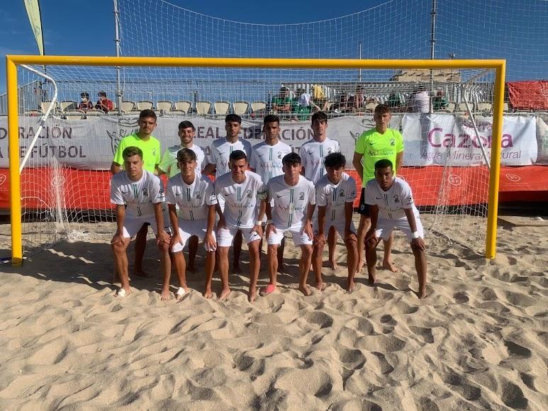 Con la Selección de Andalucía.