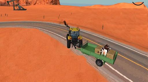 Traktör Sürme: İnek Taşıma 3D