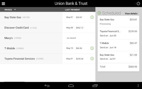 Union Bank & Trust- screenshot thumbnail