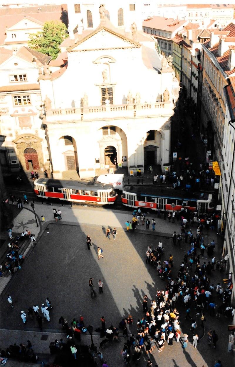 Piazza con tram Viennese di alansa