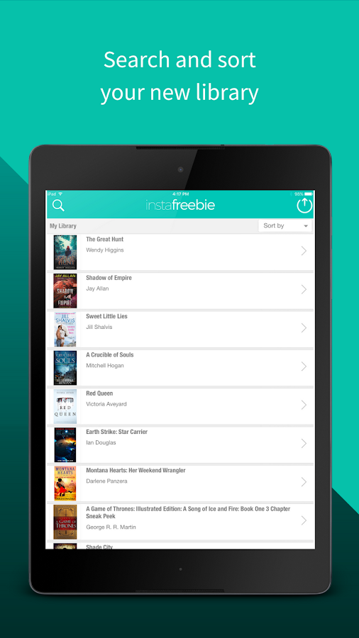 Instafreebie - Free books on your device- screenshot