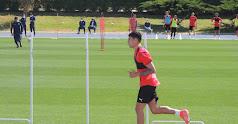 Samú Costa se pone a punto para volver y debutar en el once de Rubi.