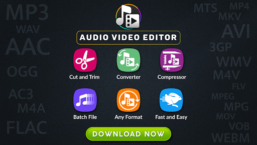 MP3, MP4 Audio Video Cutter, Converter, Compressor 0.2.0 screenshots 1