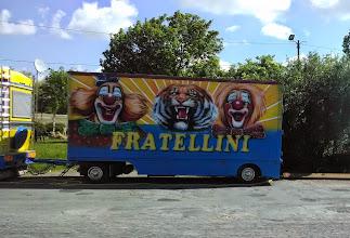 Photo: Visiting circus