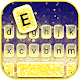 Gold Glitter Gradient Keyboard Theme APK