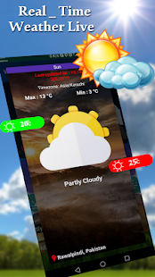 Real Time Weather Forecast Apps - Daily Weather for PC-Windows 7,8,10 and Mac apk screenshot 1