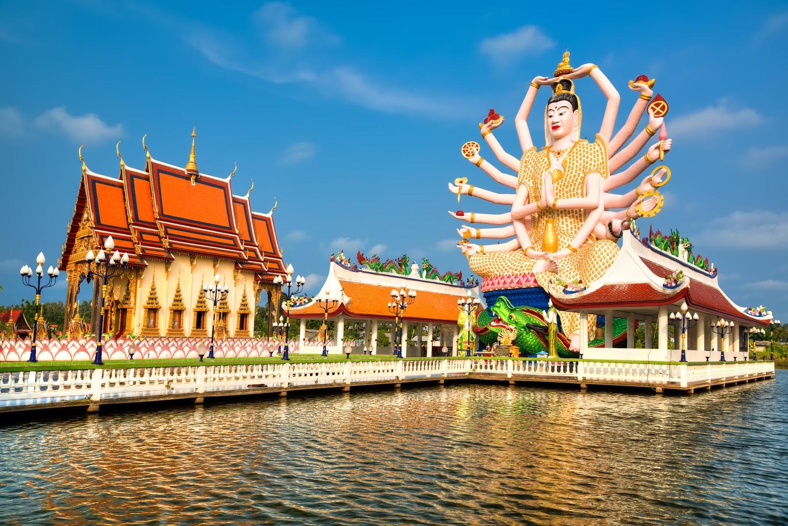 temple Wat Phra Yai