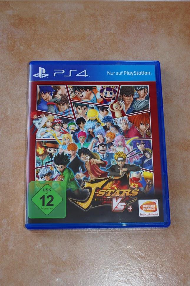 PS4 J-Stars Victory VS+