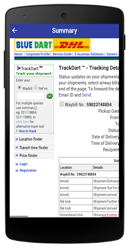 All Courier Tracking by pointDeveloper (Google Play, United States