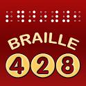 428 Braille icon