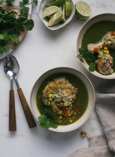 Aguadito (Peruvian Chicken Soup)